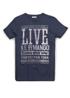 T-SHIRT ESTAMPADO LIVE