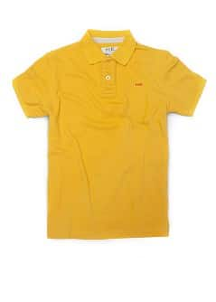 PIQU POLO SHIRT