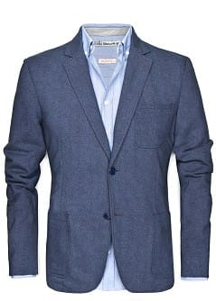 Melierter Blazer