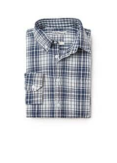 Chemise slim-fit carreaux