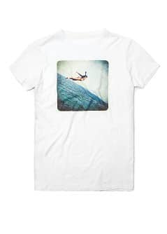 Photograph print t-shirt