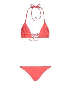 TOUCH - Triangel-Bikini mit Stickerei by Guillermina Baeza