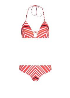 TOUCH - Striped print multicolored bikini by Guillermina Baeza