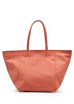 TOUCH - Faux leather tote bag