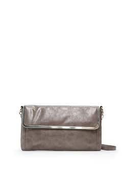 TOUCH - Metal frame shoulder bag