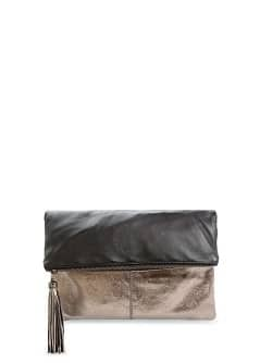 TOUCH - Leather combi clutch