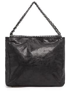 TOUCH - Bolso tote metalizado cadenas