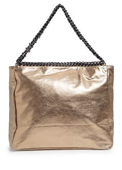 TOUCH - Chains metallic tote bag
