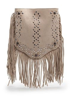 TOUCH - Studs and fringes bag