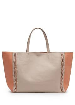 TOUCH - Chain trimmed shopper