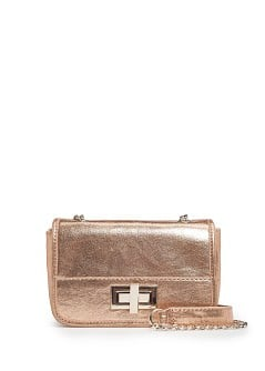 TOUCH - Metallic shoulder bag
