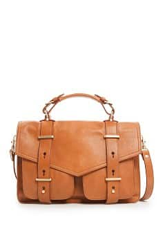 TOUCH - Sac satchel cuir