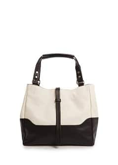 TOUCH - Two-tone tote bag