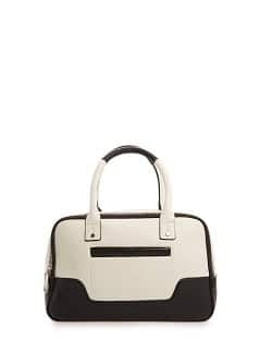 TOUCH - Pocket two-tone tote bag