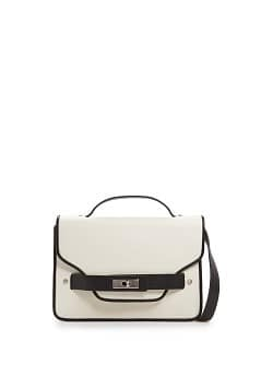 TOUCH - Two-tone shoulder bag