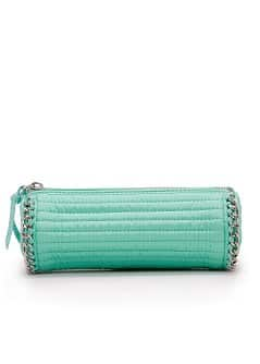 TOUCH - Chain trimmed cosmetic bag