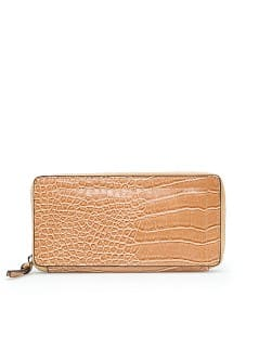 TOUCH - Croc effect wallet