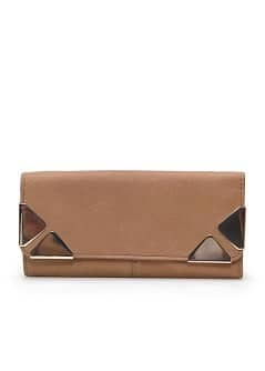 TOUCH - Appliqu leather wallet