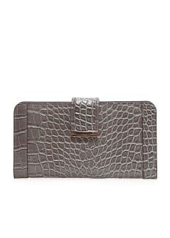 TOUCH - Croc embossed  wallet