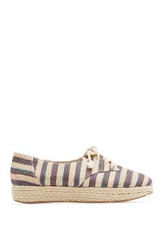TOUCH - Striped espadrille shoes