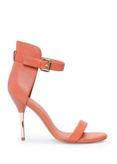 TOUCH - Metallic heel sandals
