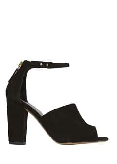 TOUCH - Ankle strap suede sandals