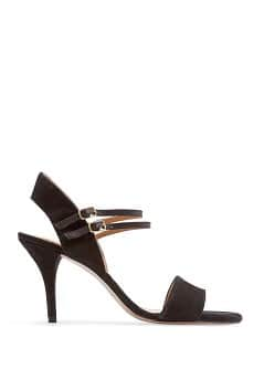 TOUCH - Suede strappy sandals