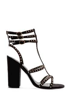 TOUCH - Studded straps sandals
