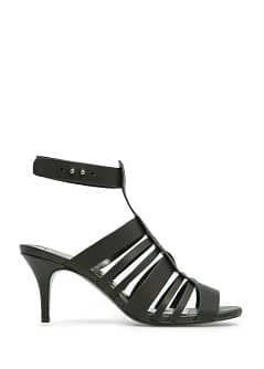 TOUCH - High heel leather sandals