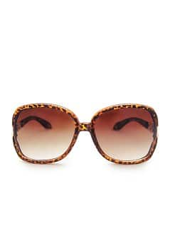 TOUCH - Braided appliqué sunglasses