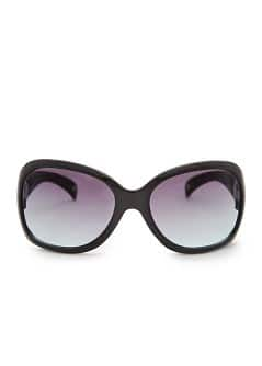 TOUCH - Squared-frame strass sunglasses