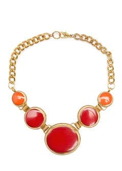TOUCH - Collier cercles résine