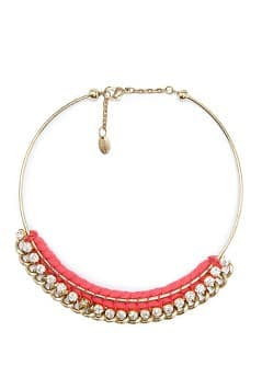 TOUCH - Crystal embellished choker