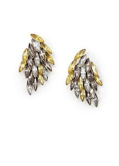 TOUCH - Drop crystals earrings