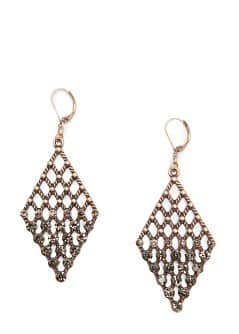 TOUCH - Diamond earrings with crystals
