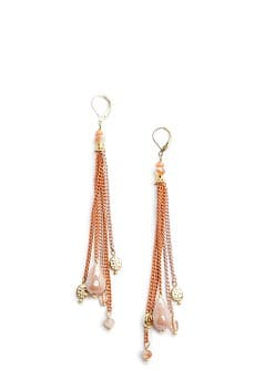 TOUCH - Colored chains earrings
