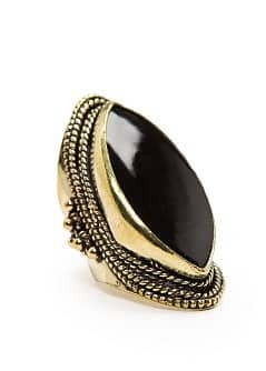 TOUCH - Oval shaped ethnic ring