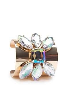 TOUCH - Crystal embellished cuff