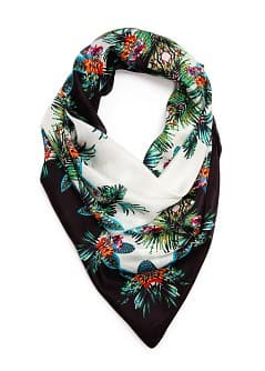 TOUCH - Printed silk scarf