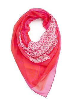 TOUCH - Lace print scarf