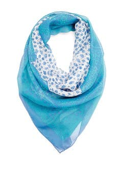 TOUCH - Foulard imprim dentelle