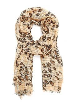 TOUCH - Animal print foulard