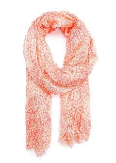 TOUCH - Spotted print foulard