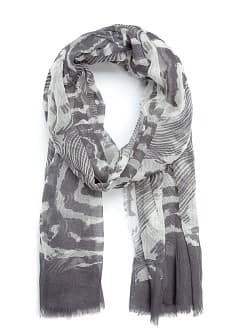 TOUCH - Printed cotton foulard