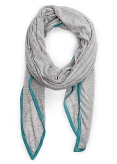 TOUCH - Flecked trim foulard