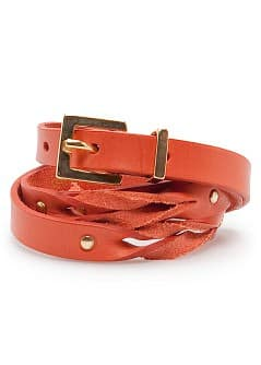 TOUCH - Braided leather belt