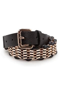 TOUCH - Woven drawcord chain belt