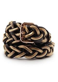 TOUCH - Braided chain belt