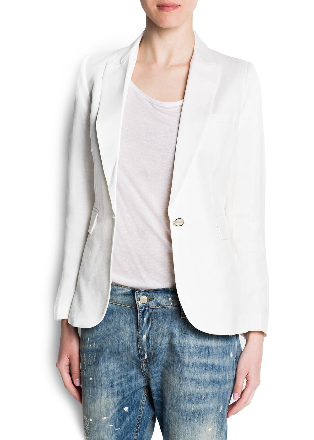 Tailored fitted blazer | MANGO