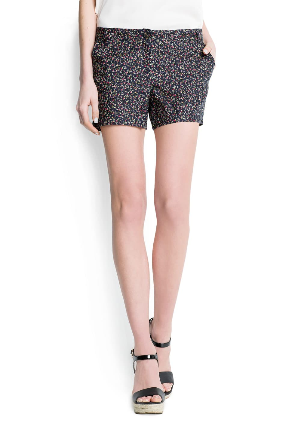 Liberty print shorts | MANGO